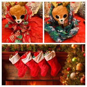 NWT holiday scarfs  bundle red /green very soft 🎁